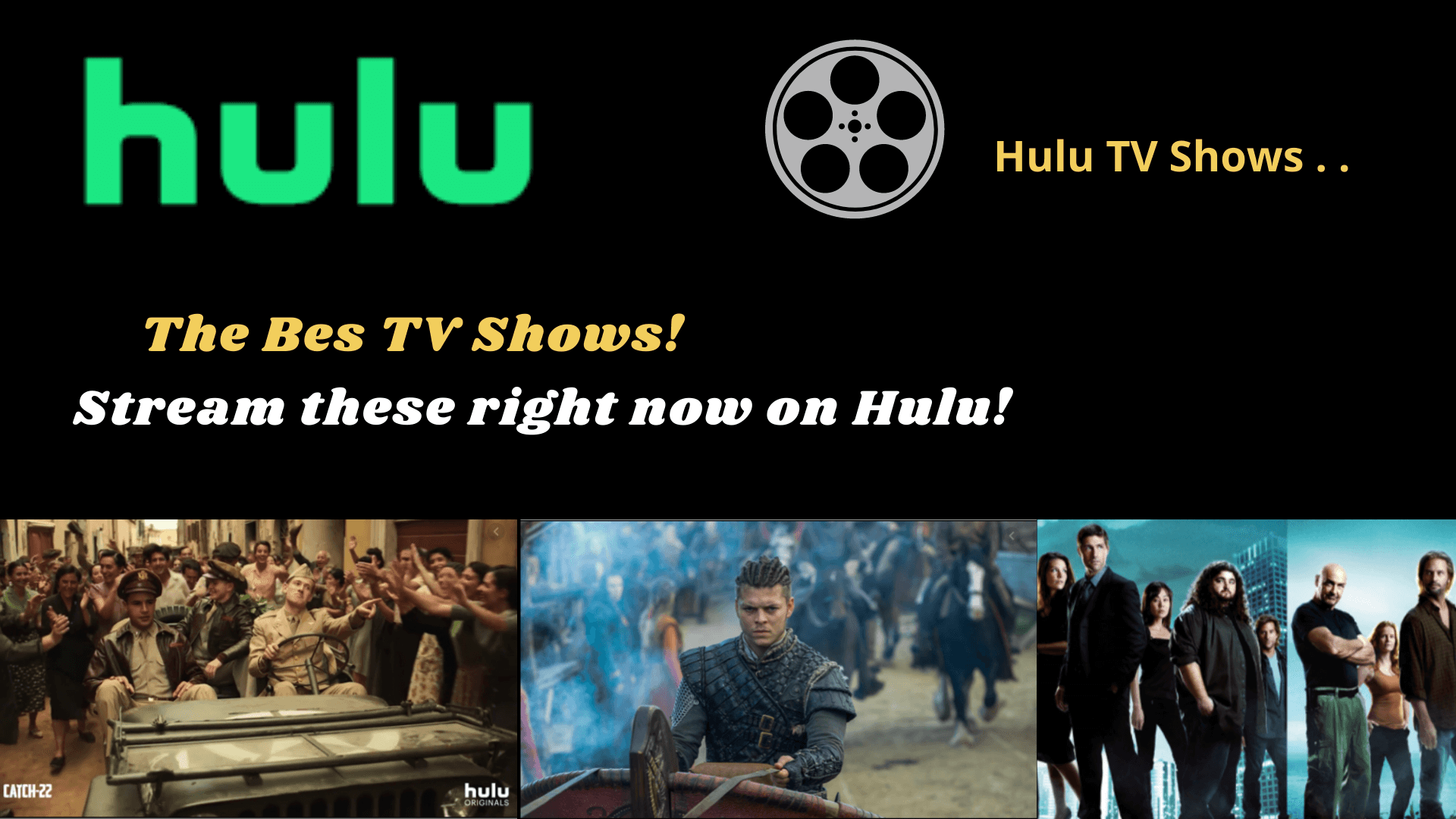 The Best TV Shows on Hulu