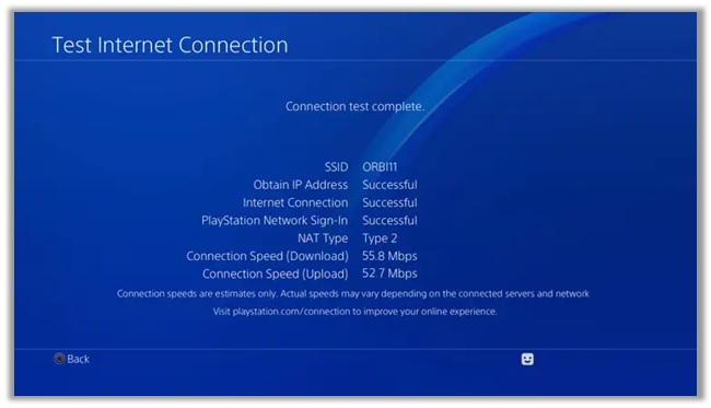 Testing Ps4 Connection